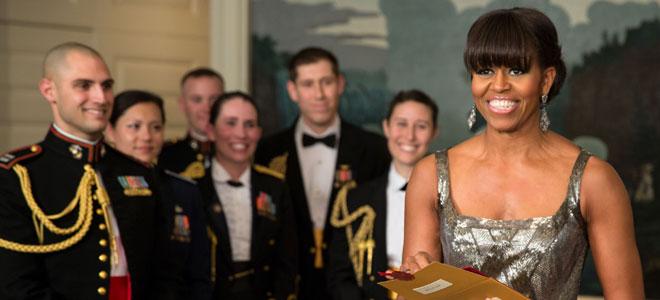 Michelle Obama despierta las críticas de Irán.