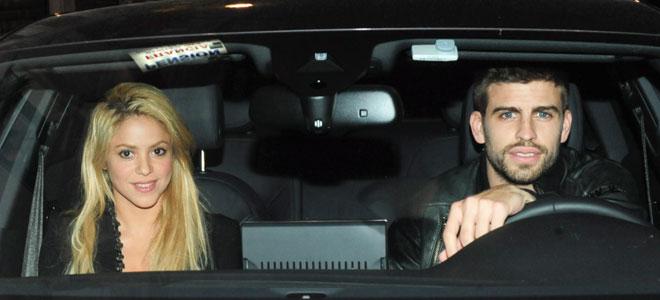 Piqué y Shakira, espiados por el FC Barcelona.