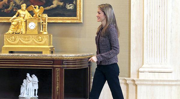 Letizia Ortiz y su culo en entredicho