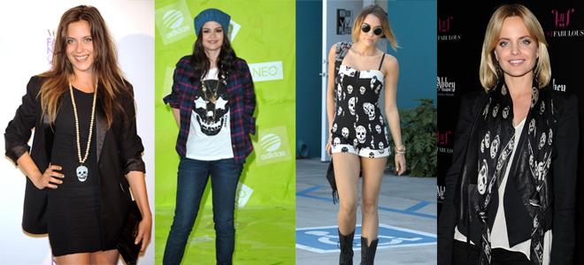 María León, Selena Gómez, Miley Cyrus e Mena Suvary