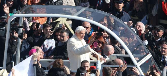 La despedida del Papa Benedicto XVI