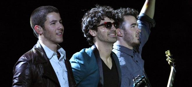 Jonas Brothers en el escenario de Viña del Mar 2013
