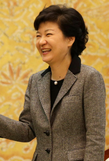 Park Chung-hee, primera mujer presidente de Corea del Sur.