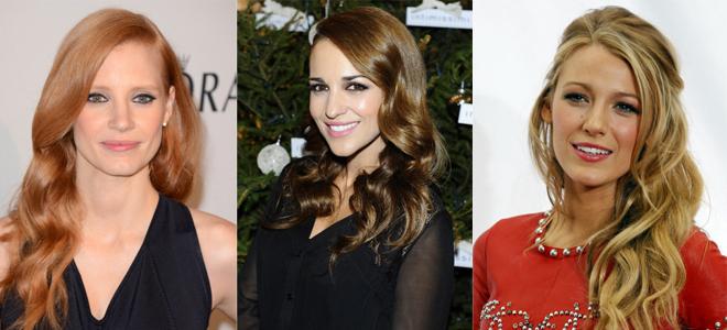 Jessica Chastain, Paula Echevarría y Blake Lively