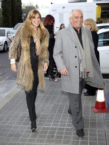 Pepe Sancho y su mujer Reyes Monforte