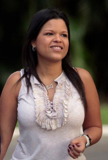 María Gabriela Chávez, la Primera Dama de Venezuela.