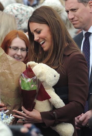 Kate Middleton desvela por error el sexo de su bebé, una niña