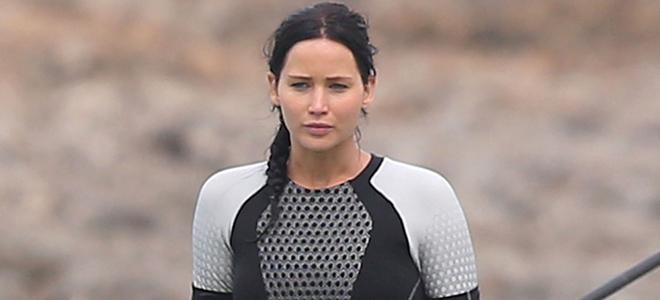 Jennifer Lawrence luce nuevo pelo moreno