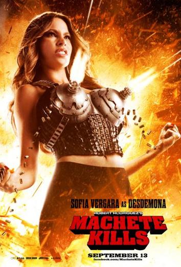 fotografia promocional de Sofia Vergara en Machete Kills