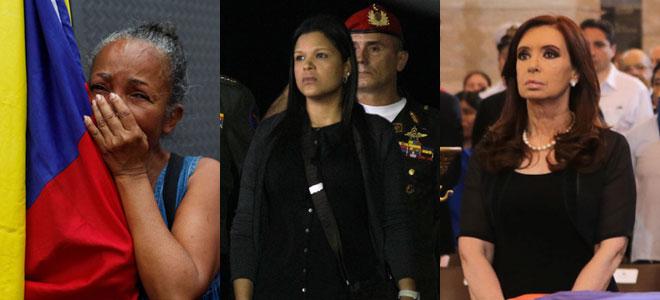Las 'viudas' de Hugo Chávez: de Cristina Fernández a Naomi ...