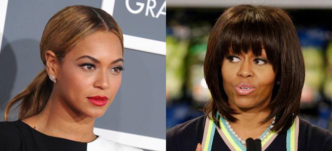 Michelle Obama y Beyoncé.
