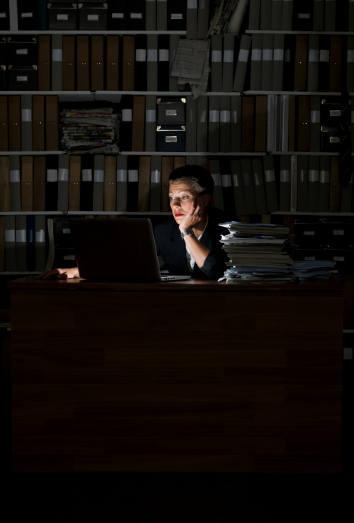 Efectos de trabajar de noche
