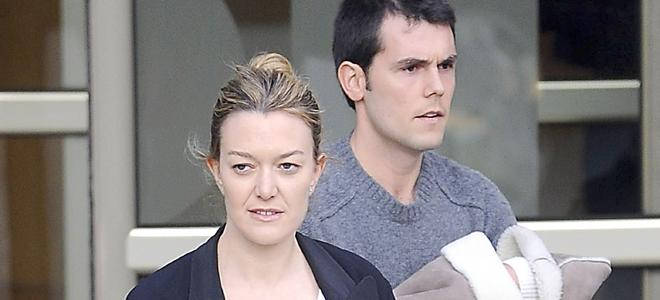 Marta Ortega sale del hospital de dar a luz a Amancio Alvarez, heredero del imperio Inditex y Zara
