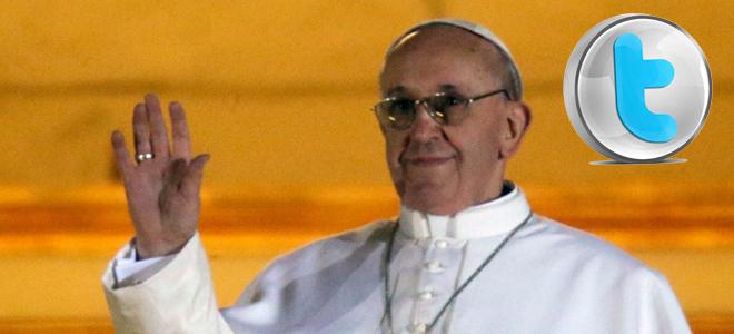 Jorge Mario Bergoglio, el nuevo papa Francisco i en Twitter