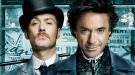 Robert Downey Jr. y Jude Law se pasean por Madrid