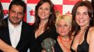 Antena 3 y TVE, triunfadoras en la gala de los Premios TP