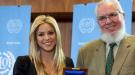 La ONU premia a Shakira por su labor social