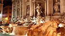 La leyenda de la  Fontana de Trevi sólo por la noche