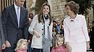 La Semana Santa de la Princesa Letizia y las Infantas Leonor y Sofía