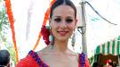 Eva González derrocha estilo en la feria de Abril