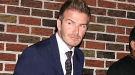 David Beckham, elegante y sonriente a pesar de su mala racha
