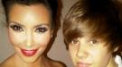 Justin Bieber hace realidad su sueño de conocer a Kim Kardashian