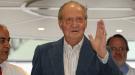 El Rey Don Juan Carlos sale del Hospital Clínic de Barcelona
