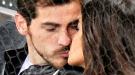 Íker Casillas y Sara Carbonero, amor y besos en la pista
