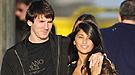 La novia de Messi en la fiesta del Barcelona campeón de Liga