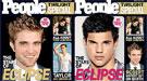 Robert Pattinson y Taylor Lautner compiten en vender más revistas