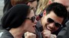 Taylor Lautner y Kristen Stewart, muy unidos en la promoción de 'Eclipse'