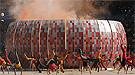 La ceremonia de apertura del Mundial 2010 decepciona con una fiesta descafeinada