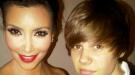 Justin Bieber y Kim Kardashian, pillados juntos de vacaciones