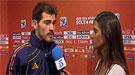 Sara Carbonero hace una floja entrevista a Iker Casillas en Telecinco