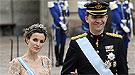 Los Príncipes de Asturias han reinado en la boda de Victoria de Suecia