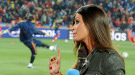 Sara Carbonero, pegada a la portería de Casillas en el partido contra Honduras