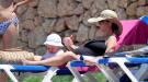 Amelia Bono, Rafael Martos y su hijo Jorge, una familia feliz en Ibiza
