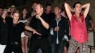 Estefanía, Alberto de Mónaco y Charlene se desmelenan a ritmo de rock