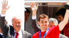 La selección española, campeona del mundo, ya está en casa