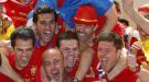 La selección española hace vibrar Madrid en la gran fiesta del triunfo