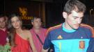 Iker Casillas y Sara Carbonero celebran a solas el triunfo en el Mundial