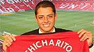 Chicharito, el 'Beckham' mexicano, estrena el nuevo estadio del Chivas