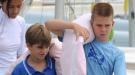 Los nietos de la reina Sofía, juntos y revueltos dando clase de náutica en Mallorca