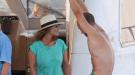 Gonzalo Miró y su novia, Amaia Montero, dos enamorados en altamar