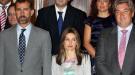 La princesa Letizia comienza el curso con un estilo moderno y más infantil