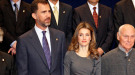 Doña Letizia acierta con el look en los premios Príncipe de Asturias 2010