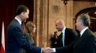 Felipe y Letizia entregan el premio Príncipe de Asturias a 'La Roja'