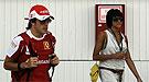 Fernando Alonso acelera en Corea pero aparca los planes de hijos con Raquel del Rosario
