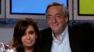 Triste despedida a Néstor Kirchner en la Casa Rosada