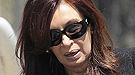La emoción de la familia Kirchner en el entierro en Río Gallegos